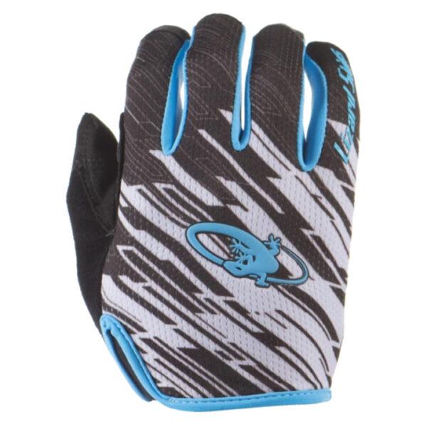 Rękawiczki LIZARDSKINS MONITOR długi palec niebieskie (Blue Strike)