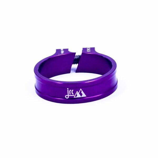 Zacisk sztycy JRC Components Kumo - fioletowe /purple/
