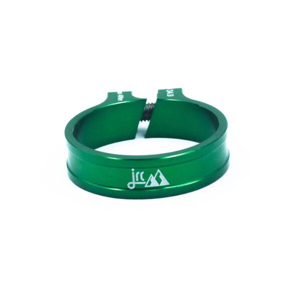 Zacisk sztycy JRC Components Kumo - ciemno zielone /racing green/