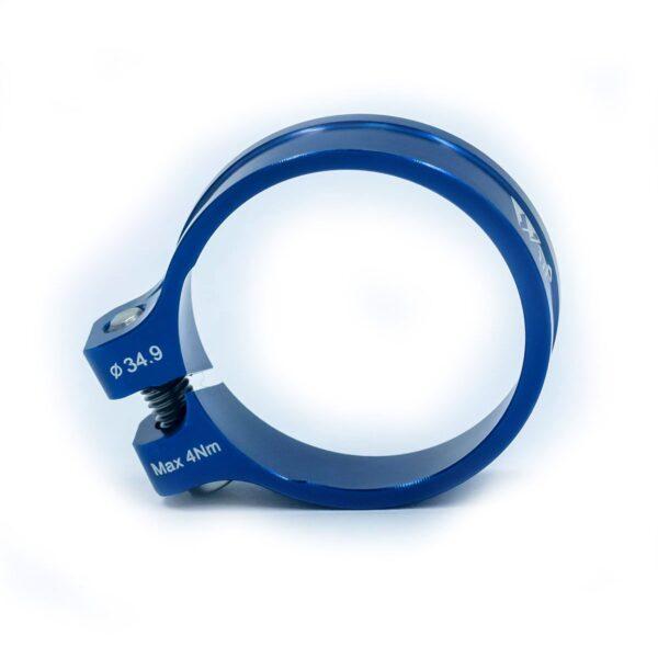 Zacisk sztycy JRC Components Kumo - niebieskie /blue/